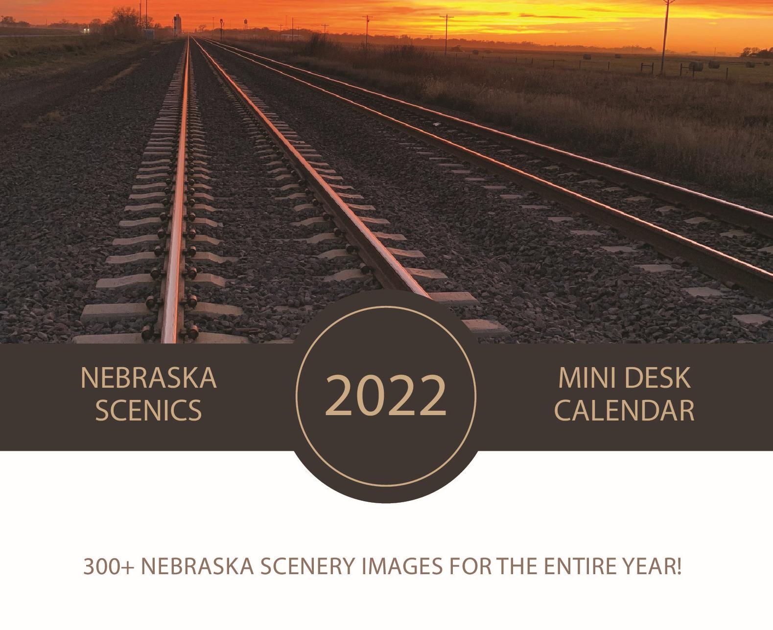 Introducing the Nebraska Scenic Daily Desk Calendar!!